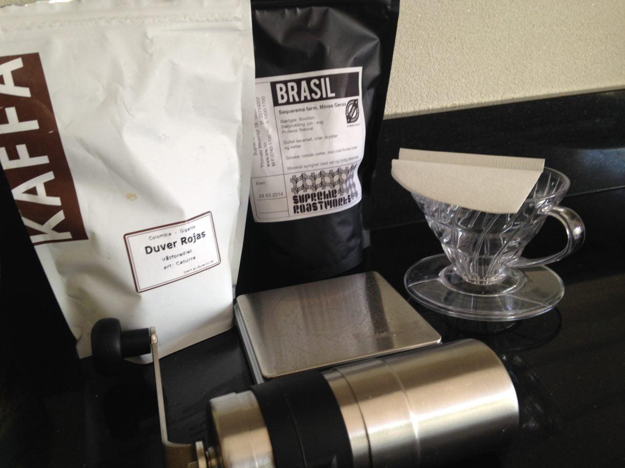 Er du kaffemaster reiser du ikke uten dette kit'et!