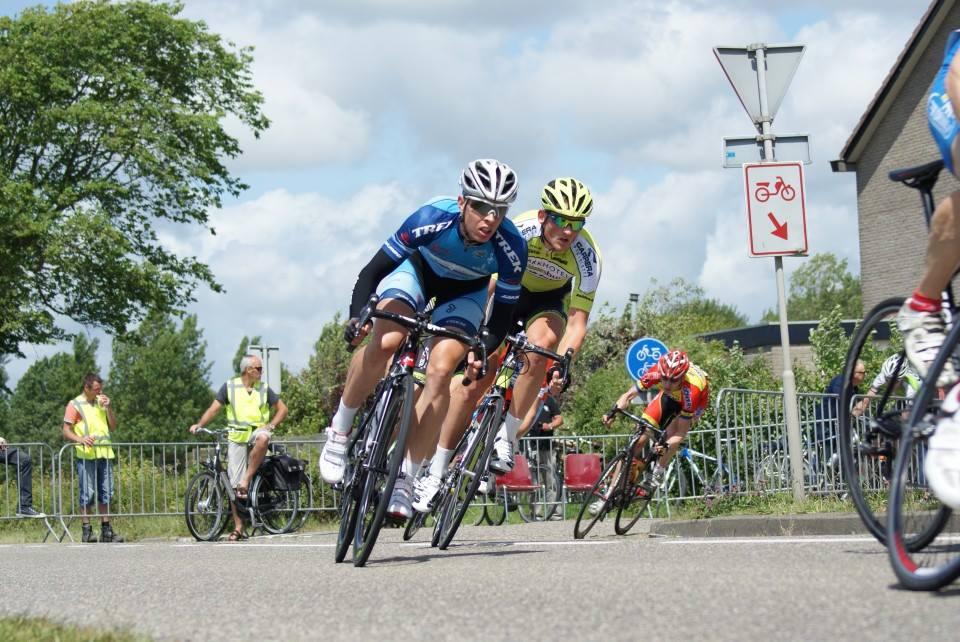 Treningsritt i Amsterdam på lørdag. Ikke mitt største ritt, men det ble seier! Morsomt!