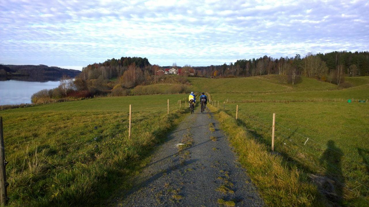 På tirsdag var jeg på langtur med Kørner og Børresen i Follo. Formen var ikke helt som i september og det ble seigt mot slutten, men likevel en bra tur!