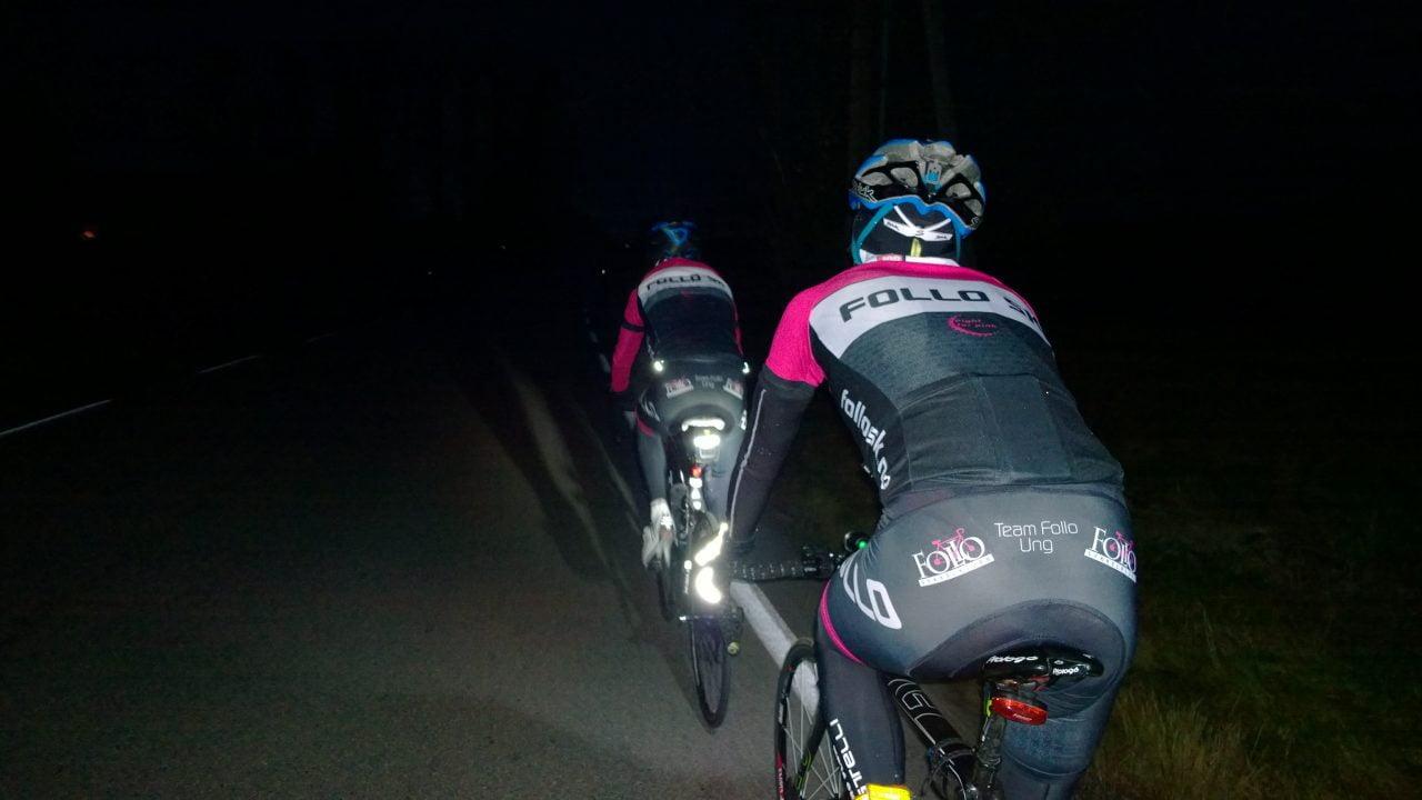 På onsdag var jeg på kveldsøkt med Follo Development Team. Det ble mørkt, men vi hadde selvfølgelig lys. Husk lys i mørket du og!