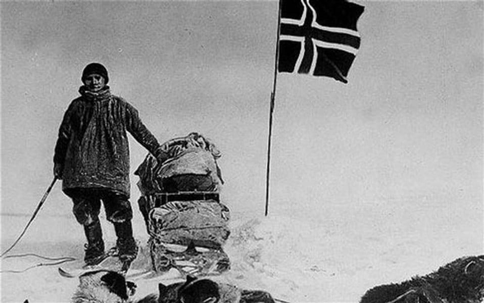 Jeg gjør igjen som Amundsen; går dit ingen annen nordmann har gått før meg!