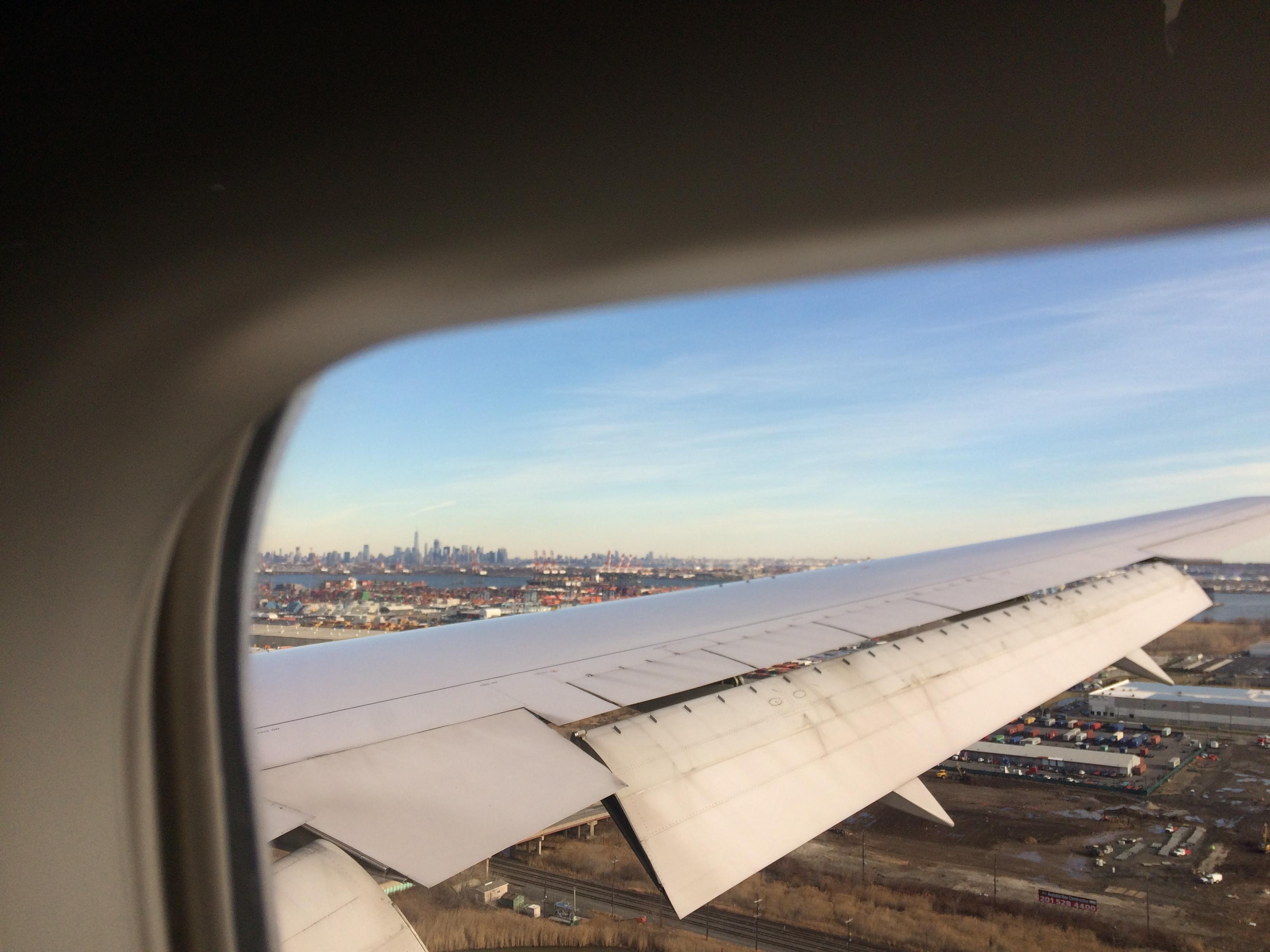 Det nærmeste jeg kom New York City var Newark. En by som en gang må besøkes!