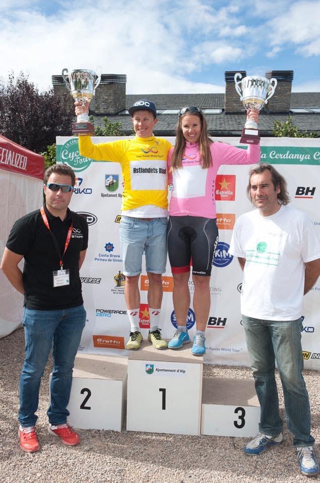 Jeg vant sammenlagt for menn, mens Siv Elin Sæteren (fra Rye og Oslo) vant dameklassen.